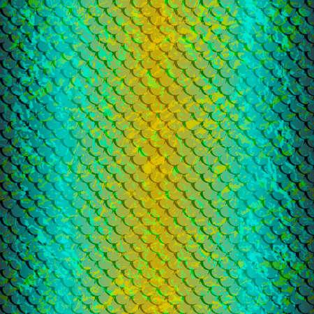Pattern-fish-snake-blue