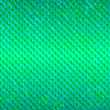 Pattert-fish-green-light Illustration