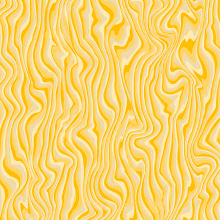 Vector marbling texture. Pattern good for floor, stone, table, wall, wrapping pape. Striped yellow abstract background. Ilustração
