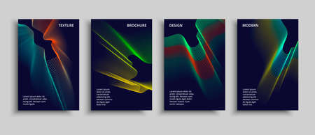 Minimal covers design. Vector modern design. Futuristic geometric sapes.