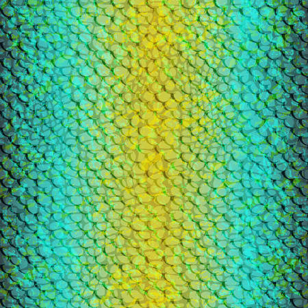 Vector seamless tropical pattern. Tropical texture for clothes, textiles, Vector color chameleon. Snake python skin texture