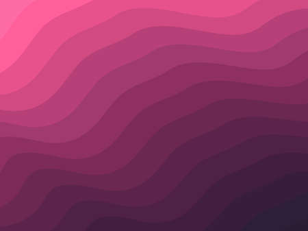 Vector background with wave effect texture. Modern abstract with smooth lines. Fluid shapes composition Illusztráció