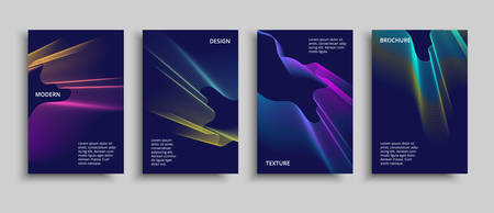 Minimal covers design. Vector modern design. Futuristic geometric shapes.