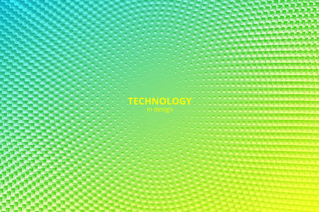 Minimal design background. Vector colorful halftone gradients. Futuristic geometric patterns. Vector granular texture Illustration