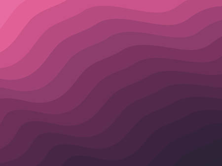 Vector background with wave effect texture. Modern abstract with smooth lines. Fluid shapes composition