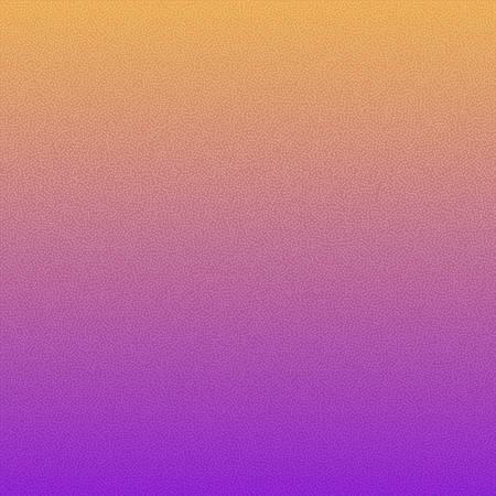 Grainy abstract texture. Vector gradient background. Purple yellow gradient. Ilustração