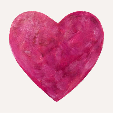 Heart brush pink one two