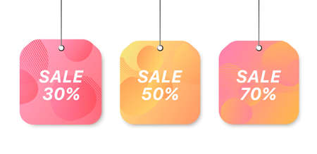 Modern multicolored template. Final summer sale.
