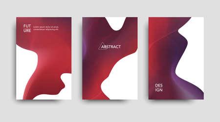 Modern brochure tech abstract pattern.