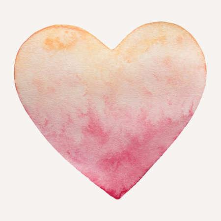 Heart pale pastel