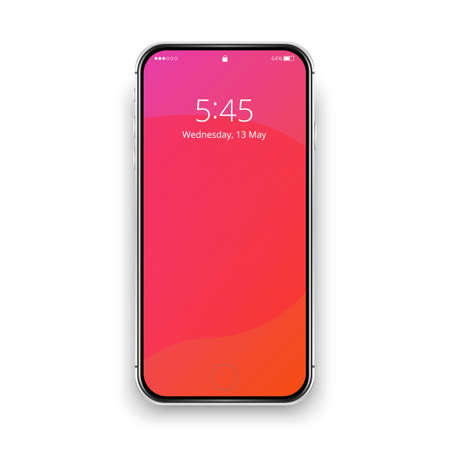 Phone pink wednesday silver