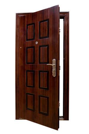 暗い分離されたドア 写真素材