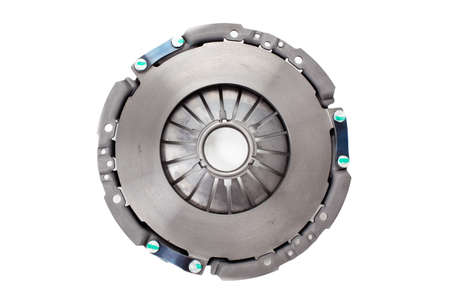 Car clutch isolated on white.