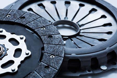 Fahrzeug-Kupplung und Druckplatte hautnah Standard-Bild - 14616288
