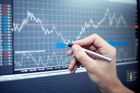 Stock Market analyze Stock Photo - 14683036