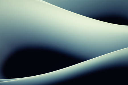 Abstract background image of pattern made by curved paper. Stock Photo