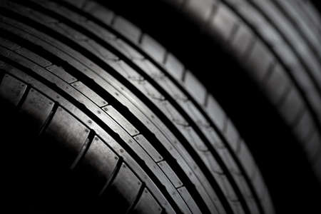 high performance: Sport tires isolated. Summer high performance tires.