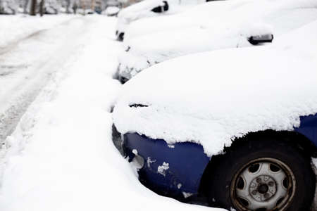 winter weather: Cars stuck after snowfall