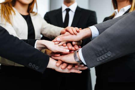 Business Leute sich die Hände Lizenzfreie Bilder