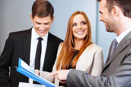 Business Menschen bei der Arbeit Lizenzfreie Bilder