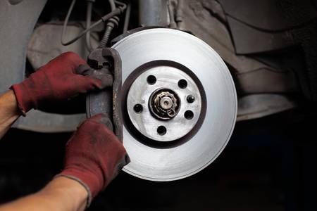 brakes: Repairing brakes pads