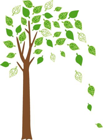 green leafs Illustration