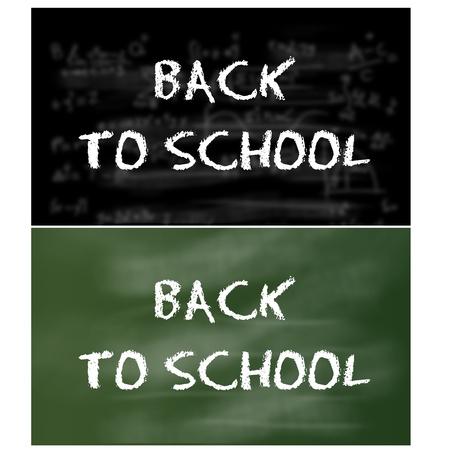 blank slate: back to school