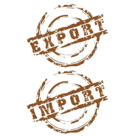 export and import: Exportaci�n Sellos de importaci�n