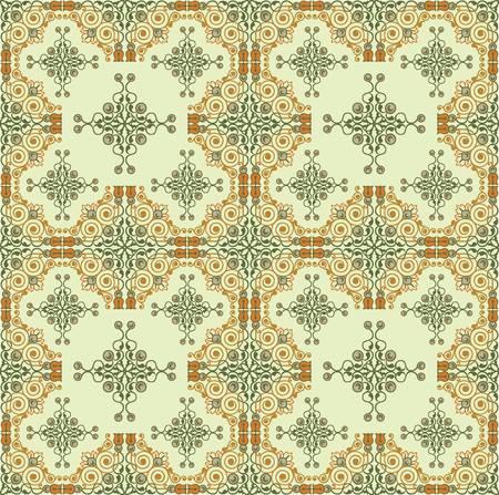 baroque ottoman pattern