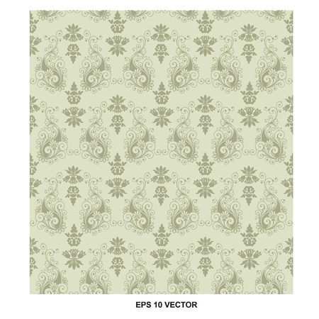 baroque pattern Illustration