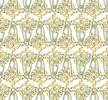 baroque seamless pattern Stock Vector - 17060815