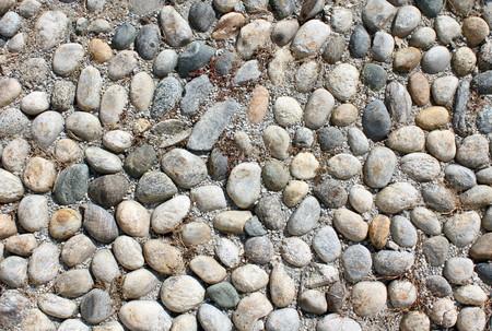 Detail of a cobblestone street  photo