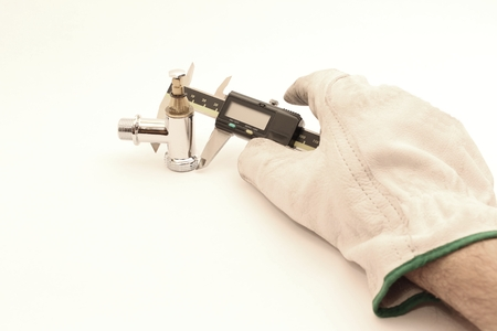 micrometer: Measuring tools for machining process; faucet.