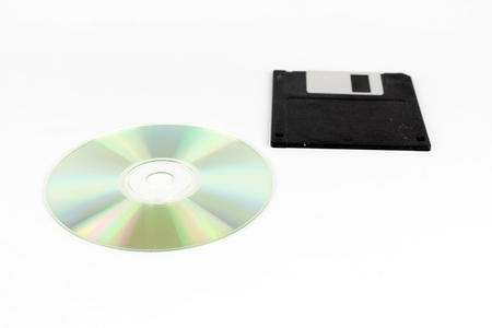 cd rom: Comparison of Cd Rom and floppy drives, of personal computers, the past and the present or future