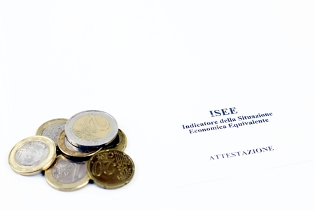 ISEE Italy indicator equivalent ecconomica situation