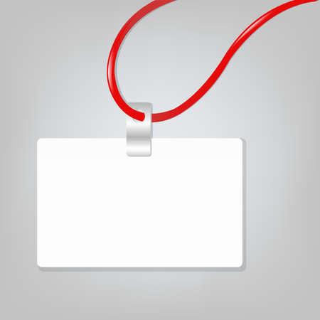 Empty Blank Badge, Vector Illustration Stock Vector - 9329061