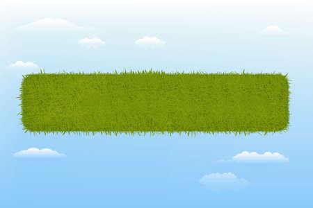 Web Grass Element Stock Vector - 9453090