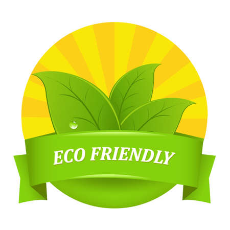 sunrays: Eco Friendly Icon Illustration