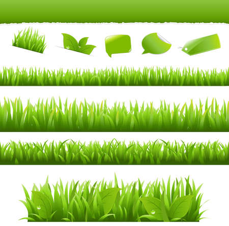 Collection Eco Design Elements Stock Vector - 9660883
