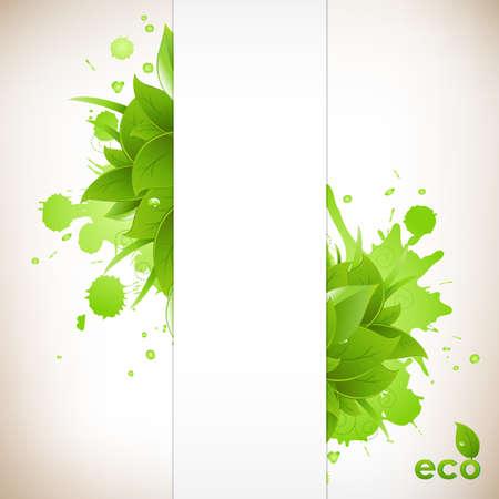 eco friendly: Design Eco Friendly Illustration
