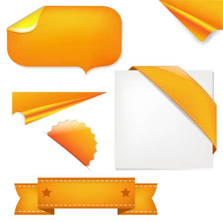 stiker: Orange Set