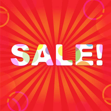 Sale Poster. Stock Vector - 10723886