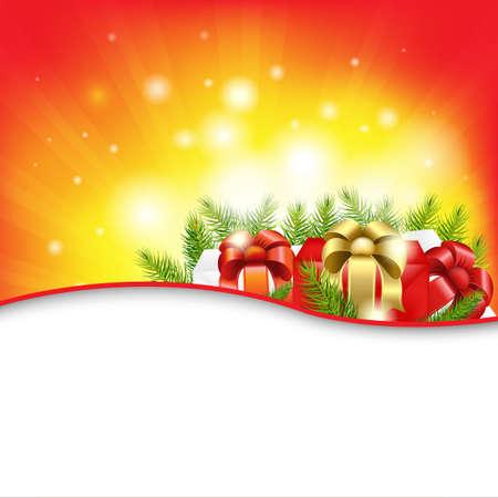 Christmas Background, Vector Illustration Vector