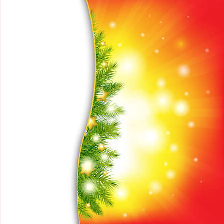 Christmas Background With Stars Stock Vector - 11271607
