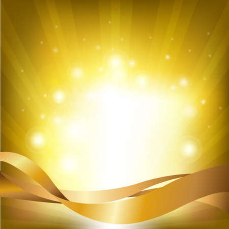 spot lights: Lights Backgrounds With Sunburst, Vector Illustration