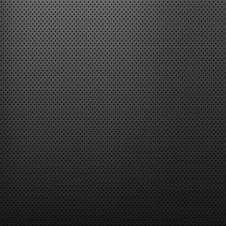 fibra de carbono: Metal textura de fondo, de fondo Vector Vectores