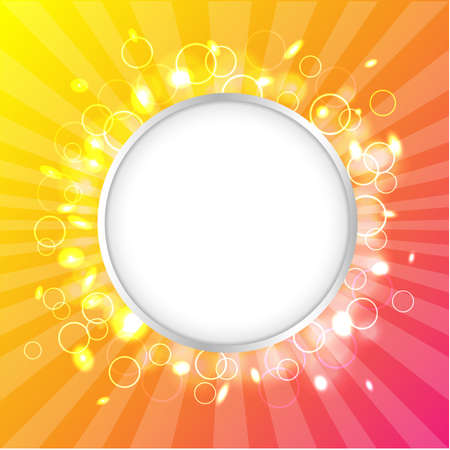 Color Design Template, Summer Poster, Vector Illustration Stock Vector - 13831143