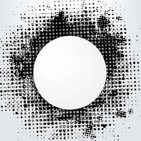 ntilde: Grunge Background With Speech Bubble