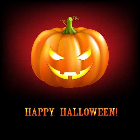 flower spider: Black Halloween Illustrations With Pumpkins, Illustration