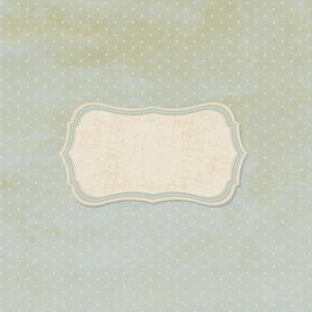 fondos colores pastel: Badge Retro Vintage, Vintage Background, Ilustraci�n Vectores